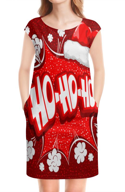 Платье без рукавов Printio Ho ho ho коврик для мышки printio ho ho ho