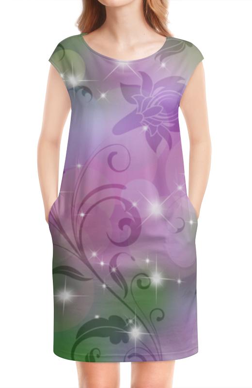Платье без рукавов Printio Лилия