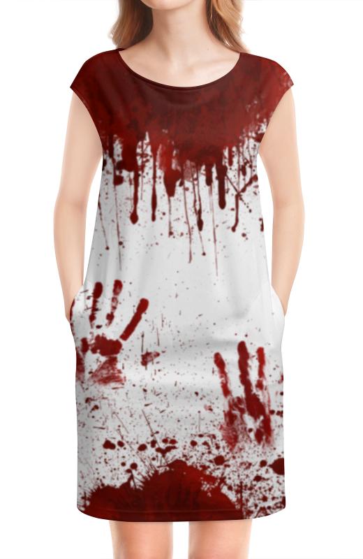 Платье без рукавов Printio Кровь тамоников а кровь за кровь