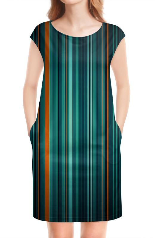 Платье без рукавов Printio Полосатая абстракция платье без рукавов printio абстрактный узор