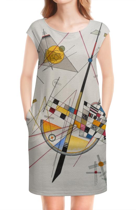 Платье без рукавов Printio Тонкое напряжение (василий кандинский) кандинский блокнот