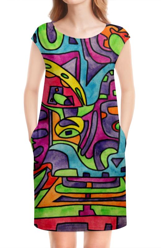 Платье без рукавов Printio Fp`pf-[]80