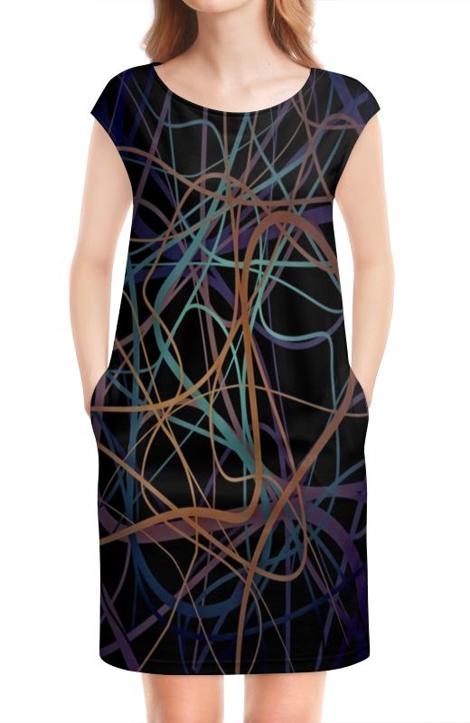 Платье без рукавов Printio Пересечение платье летнее printio пересечение