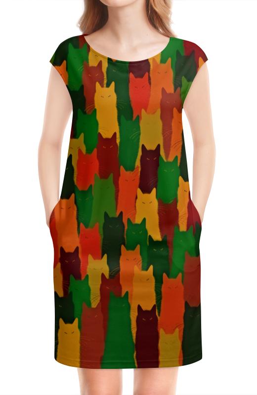 Платье без рукавов Printio Домашние питомцы бомбер printio домашние питомцы
