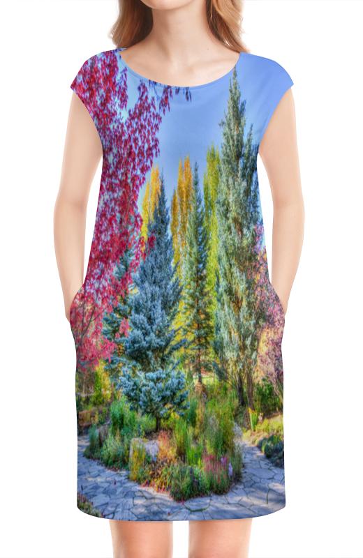 Платье без рукавов Printio Деревья в красках камилла де ла бедуайер деревья