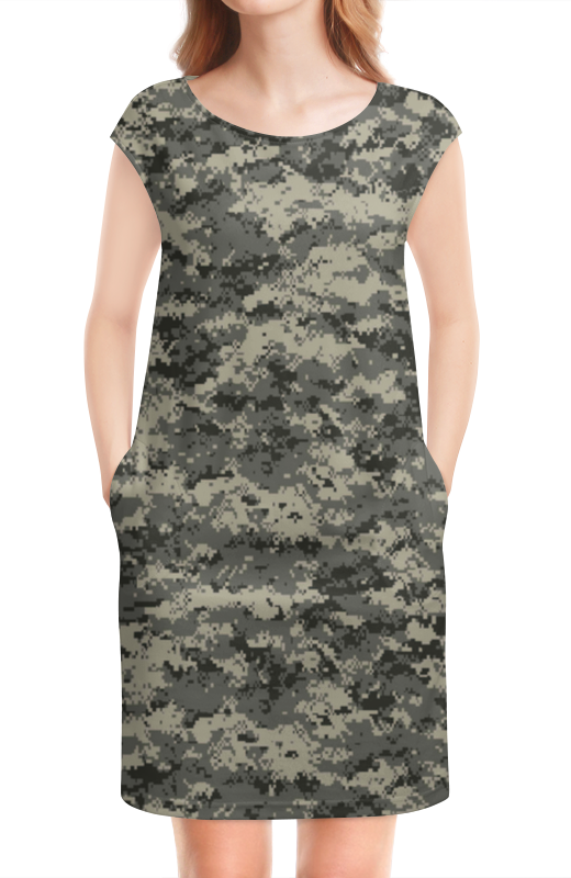 Платье без рукавов Printio Милитари в минске рубашку милитари