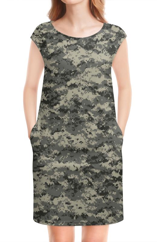Платье без рукавов Printio Милитари
