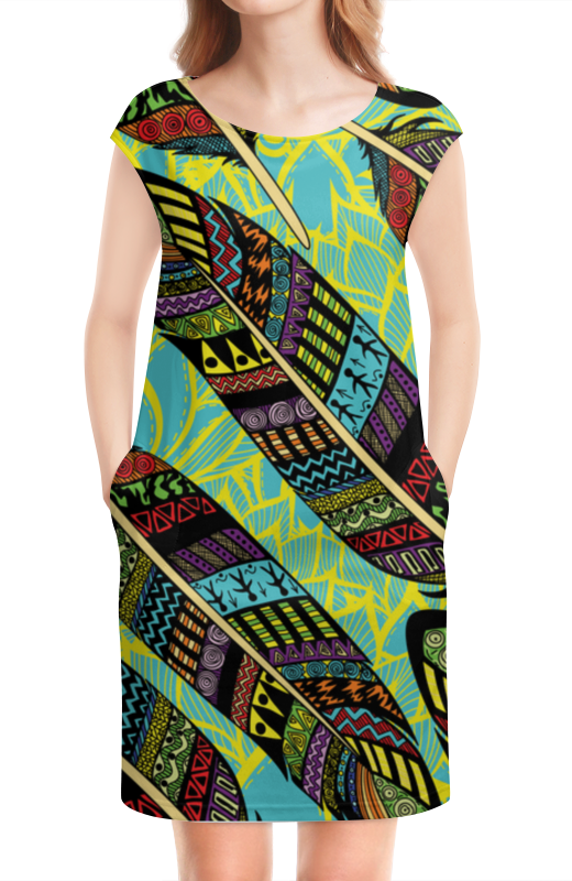 Платье без рукавов Printio В стиле бохо бохо