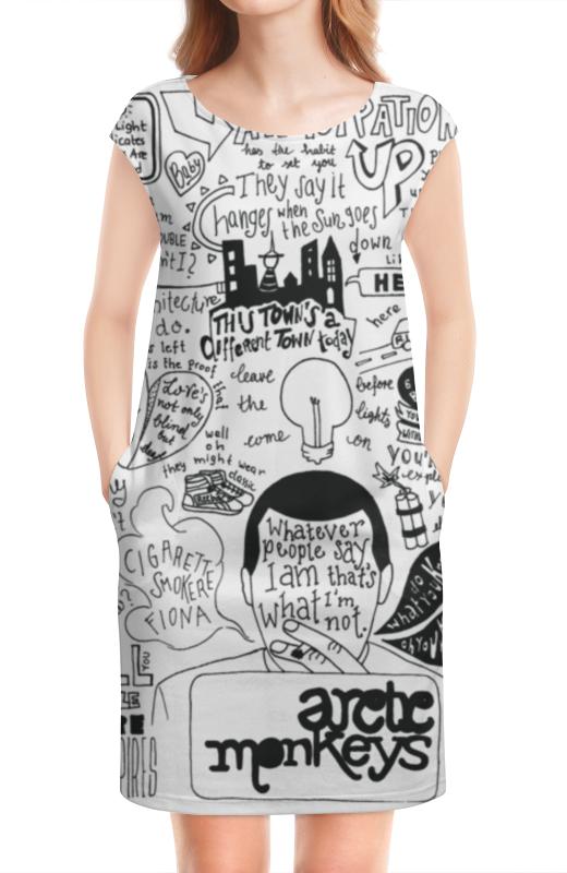 Платье без рукавов Printio Arctic monkeys arctic monkeys am