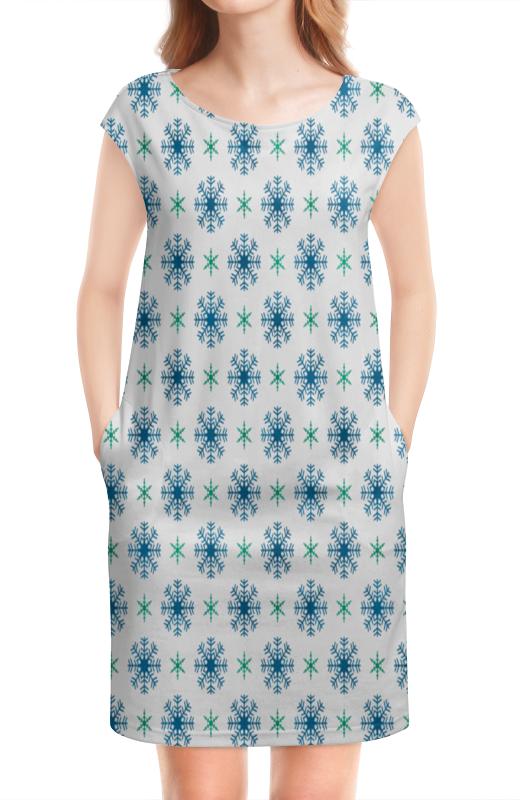 Платье без рукавов Printio Падающие снежинки людмила михайлова падающие облака