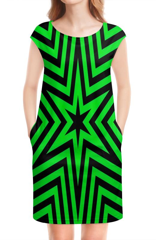 Платье без рукавов Printio Звезда