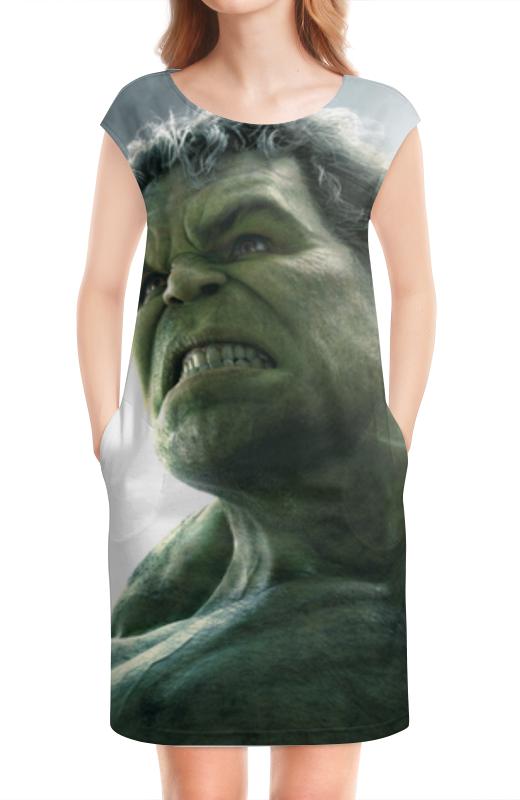 Платье без рукавов Printio Халк (hulk) лонгслив printio халк hulk