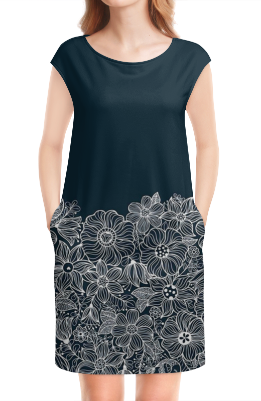 Платье без рукавов Printio Гармония гармония личности навигационный подход