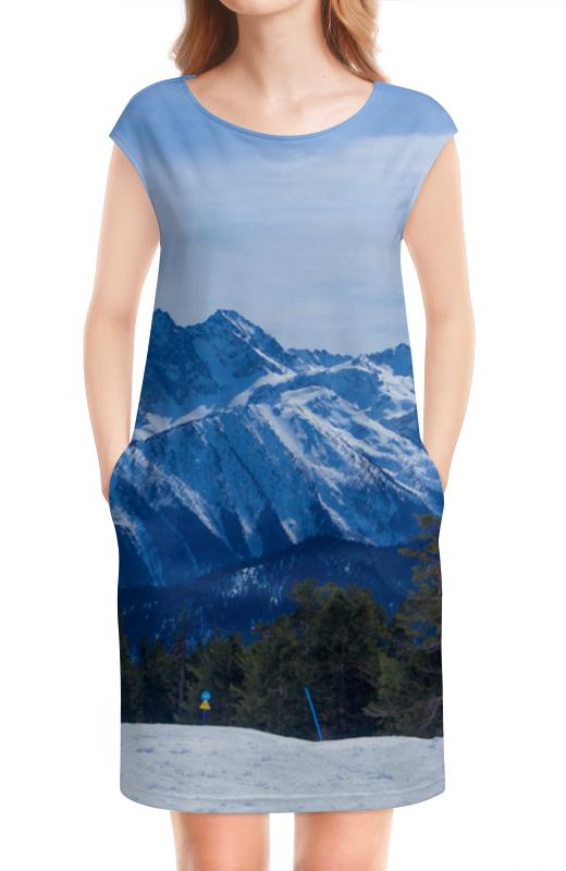 Платье без рукавов Printio Архыз