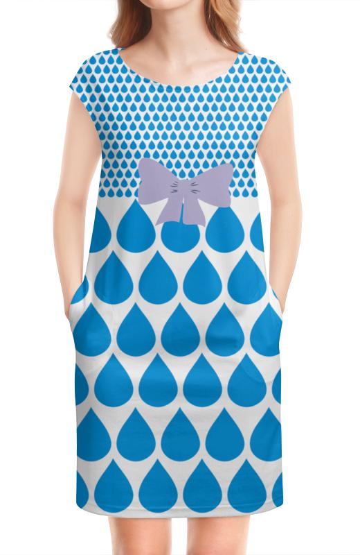 Платье без рукавов Printio Дождь