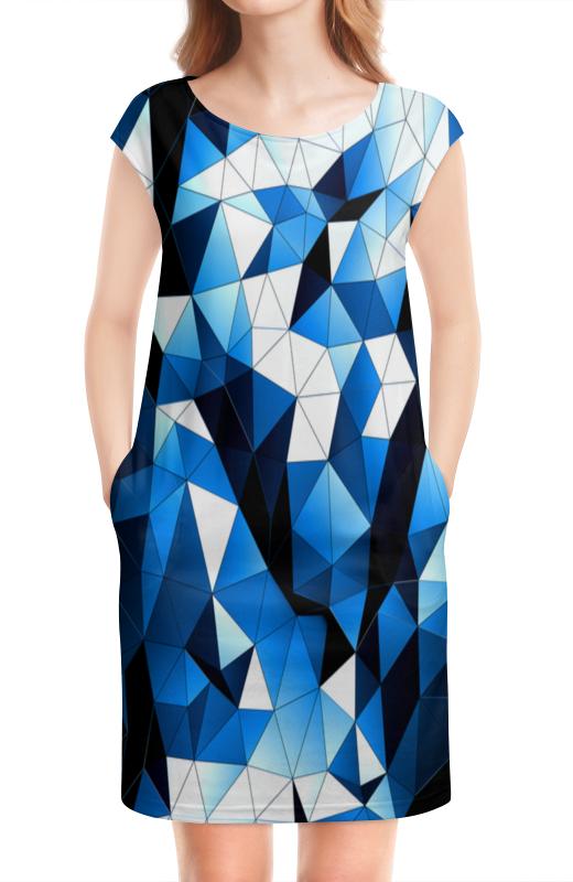 Платье без рукавов Printio Стекла цветные 100 грамовые стеклянные бутылочки из стекла цветные