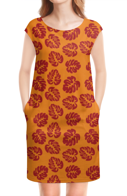 Платье без рукавов Printio Оранжевое лето футболка рингер printio оранжевое солнце