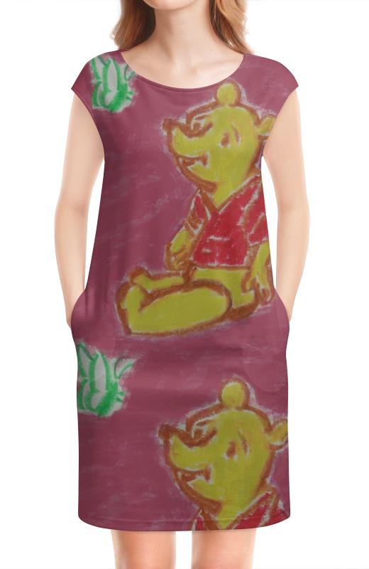 Платье без рукавов Printio Мишка с бабочкой мишка тед из фильма третий лишний