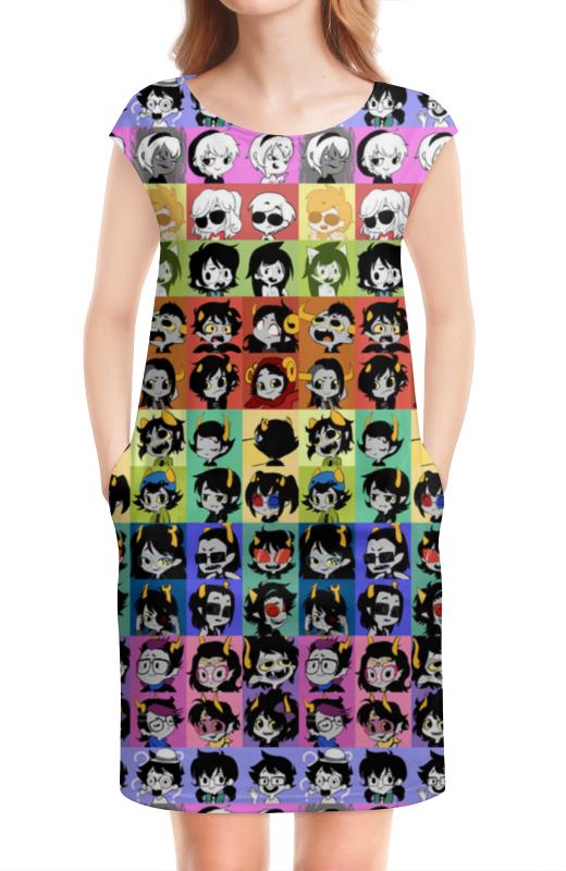 Платье без рукавов Printio Homrstuck gender-bender iron gender