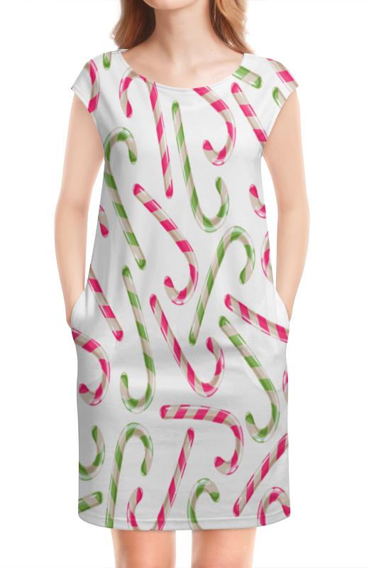Платье без рукавов Printio Конфеты конфеты