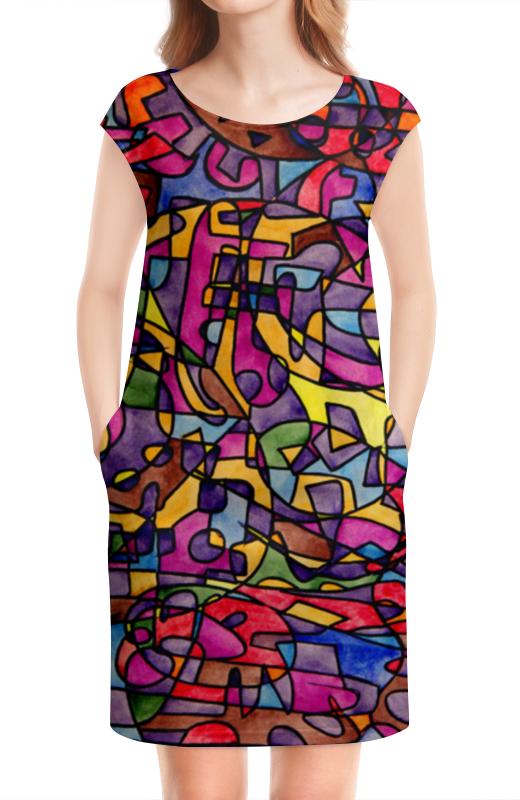 Платье без рукавов Printio Rrg`90`90=-= 90