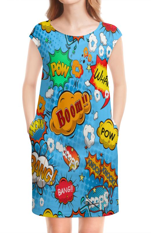 Платье без рукавов Printio Pop art iclebo pop