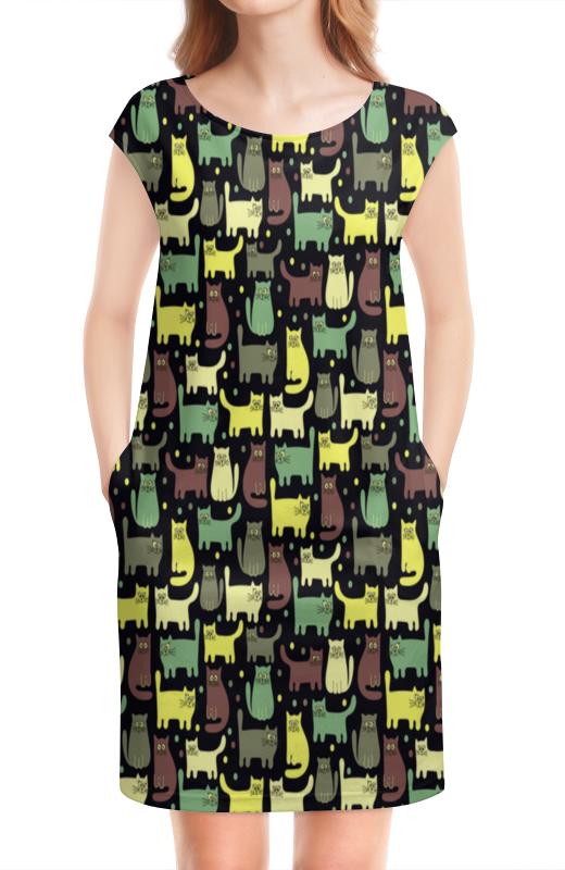 Платье без рукавов Printio Котята полуперсидские котята в москве