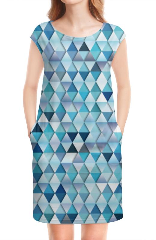 цены на Платье без рукавов Printio Геометрический узор в интернет-магазинах