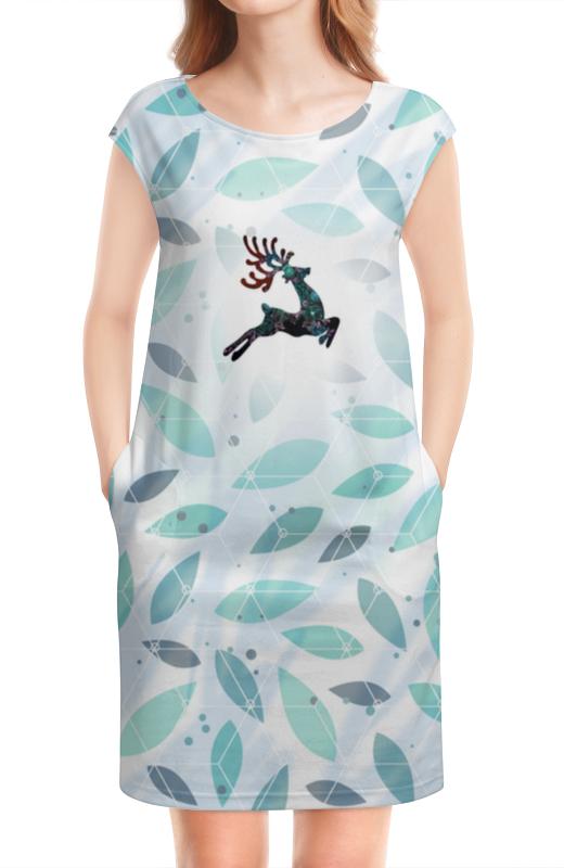 Платье без рукавов Printio Олень в полете new original us praia nmb 5915pc 20w b20 172 38mm ac220v 44w axial cooling fan