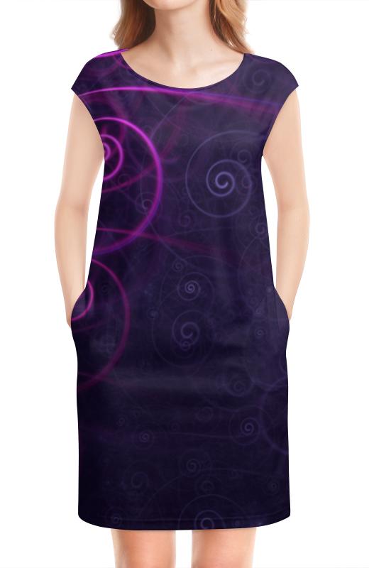 Платье без рукавов Printio Фиалковое вдохновение платье без рукавов printio абстрактный узор