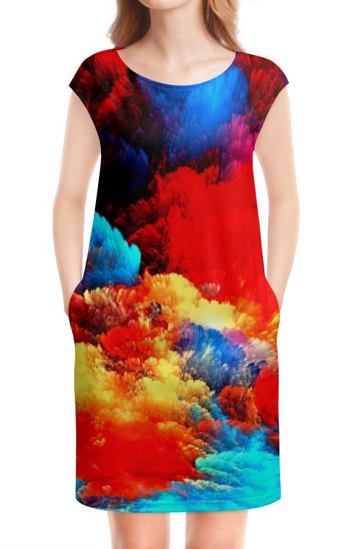 Платье без рукавов Printio Салют прихожая салют