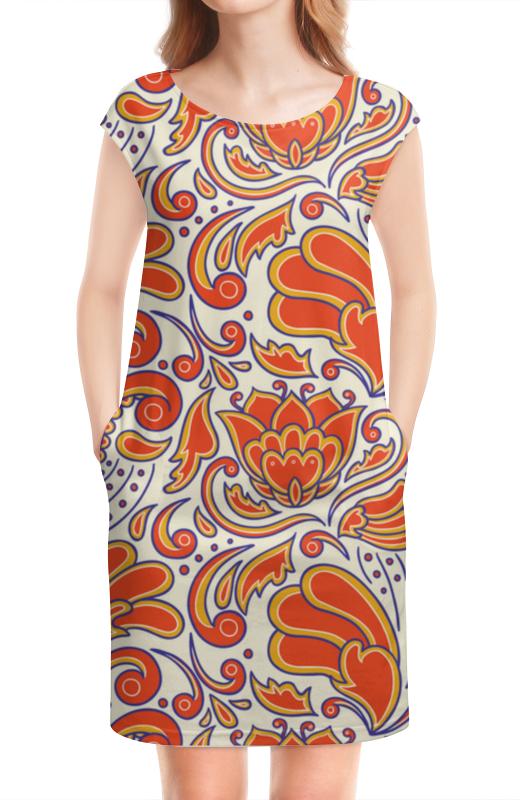 Платье без рукавов Printio Узорное платье без рукавов printio абстрактный узор