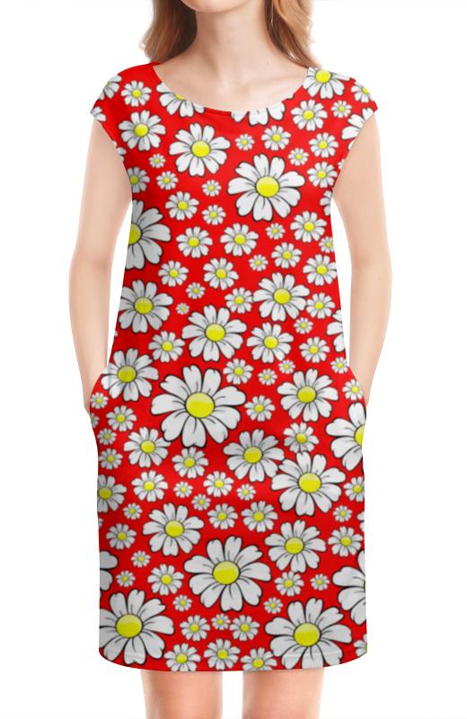 Платье без рукавов Printio Ромашки футболка классическая printio радостный крот