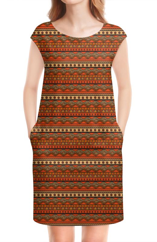 цены на Платье без рукавов Printio Абстракция в интернет-магазинах
