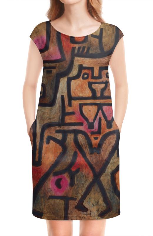 Платье без рукавов Printio Лесные ведьмы (пауль клее) чехол для samsung galaxy s5 printio лесные ведьмы пауль клее