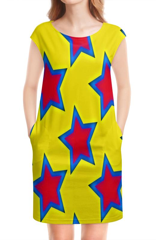 Платье без рукавов Printio Звезды