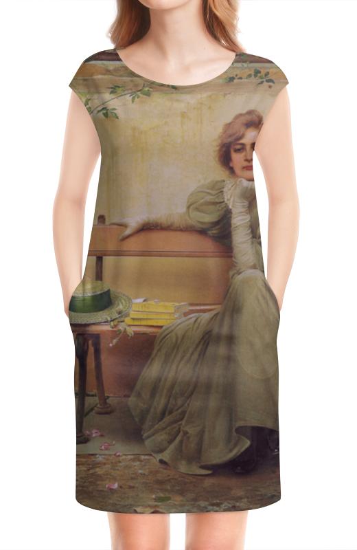 Платье без рукавов Printio Мечты (витторио коркос) чехол для iphone 7 глянцевый printio мечты витторио коркос