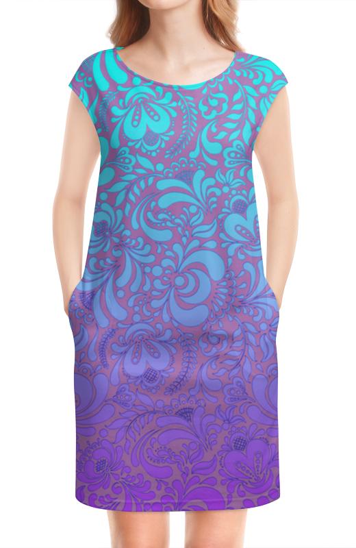 Платье без рукавов Printio Мираж платье с рисунком без рукавов