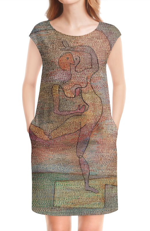 Платье без рукавов Printio Танцовщица (пауль клее)
