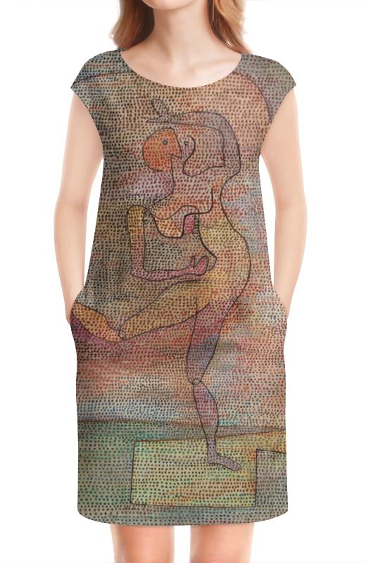 Платье без рукавов Printio Танцовщица (пауль клее) paul klee paul klee
