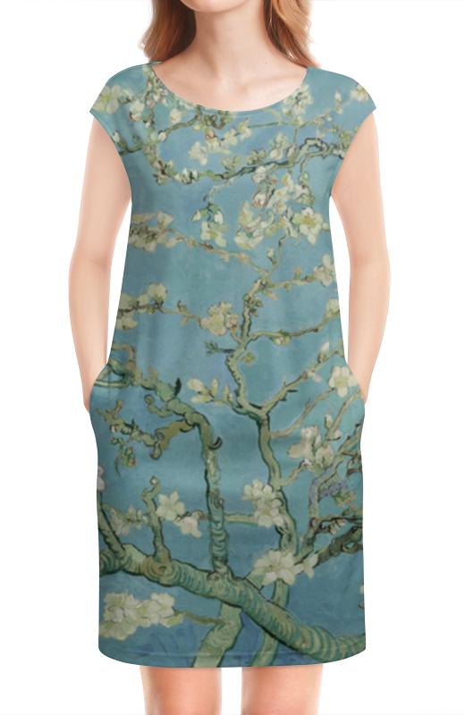 Платье без рукавов Printio Цветы миндаля (ван гог) подарочный набор ван гог