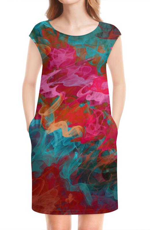 Платье без рукавов Printio Абстрактный градиентный дизайн. дигитал акварель платье без рукавов printio абстрактный узор