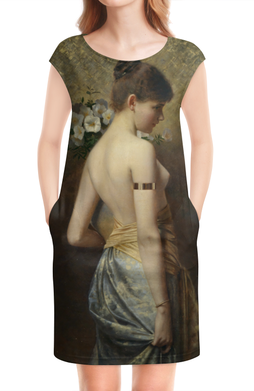 Платье без рукавов Printio Флора (макс нонненбрух) салонный фильтр мазда демио dy3w