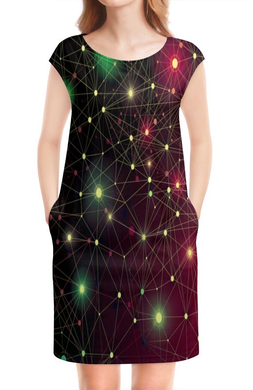 Платье без рукавов Printio Созвездие