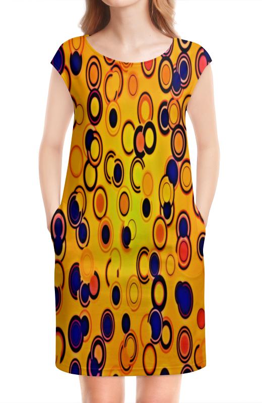 Платье без рукавов Printio Шары цветные