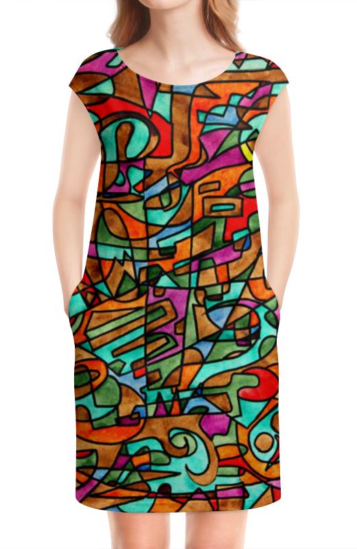 Платье без рукавов Printio 2ex/`12v 4pcs wbt 0152ag 99 998