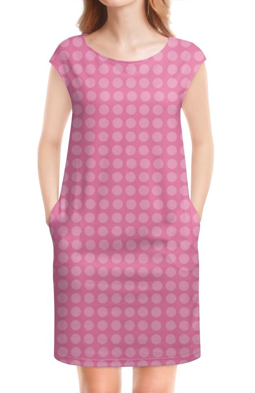 Платье без рукавов Printio Kitty в горошек платье голубое в белый горошек