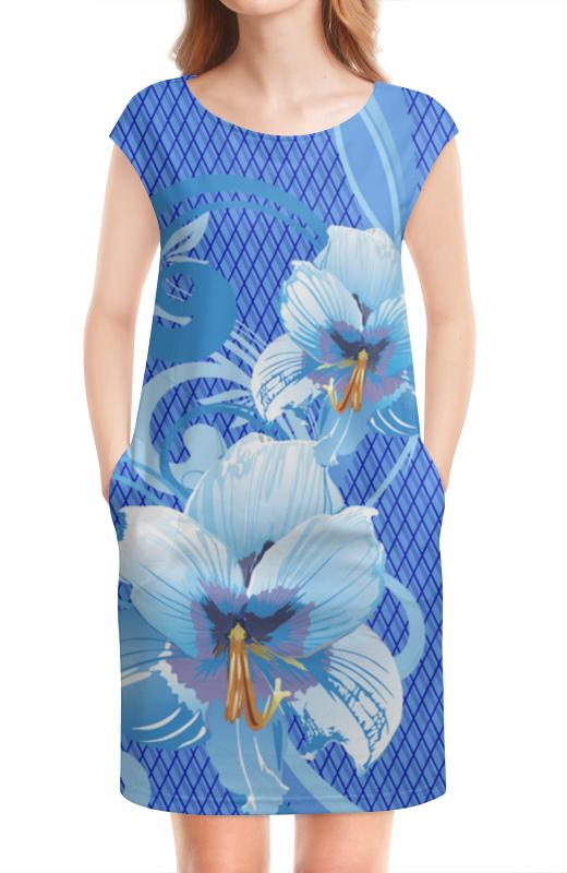 Платье без рукавов Printio Лилии лилии