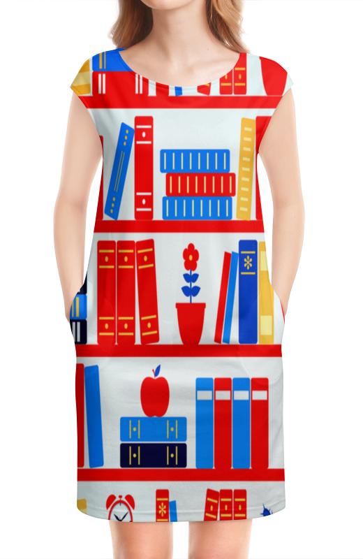 Платье без рукавов Printio Книги