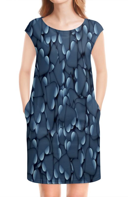Платье без рукавов Printio Сердца